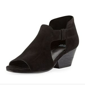 Eileen Fisher iris cutout mid heeled  bootie